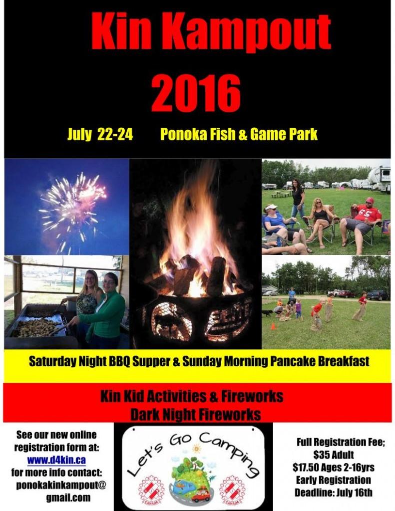 Kin Kampout @ Ponoka Fish & Game Association Park   Alberta   Canada